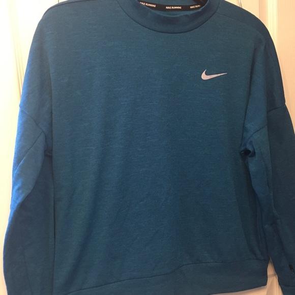 Nike Dri-FIT Therma Crew Neck Running Sweatshirt